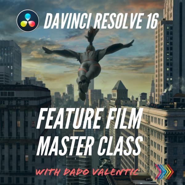 Davinci Resolve 16 Feature Film Masterclass